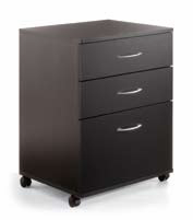 Nexera 6092 3 Drawer Mobile File