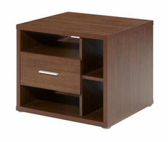 Nexera Concept Cinnamon-Cherry End�Table�with�1�Drawer