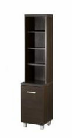 Nexera Element Espresso 60''�Tall�Satellite�Storage�Tower