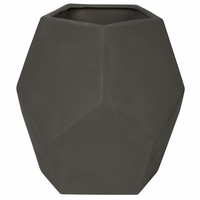Noir Furniture 122 Ceramic Vase, Beton Finish