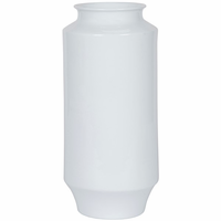 Noir Furniture 126 Vase, White