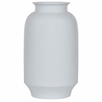 Noir Furniture 127 Vase, White