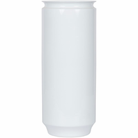 Noir Furniture 129 Vase, White