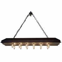 Noir Furniture 544 Club Pendant, Metal