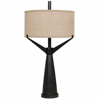 Noir Furniture Altman Table Lamp, Metal
