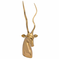 Noir Furniture Antelope, Brass