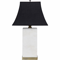 Noir Furniture Beijing Lamp Base w/No Shade