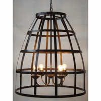 Noir Furniture Birdcage Pendant 305, Metal