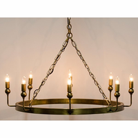 Noir Furniture Blinder Chandelier