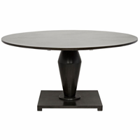 Noir Furniture Calida Dining Table, Pale