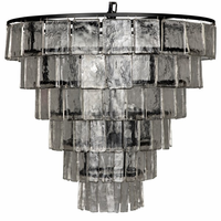Noir Furniture Carnegie Chandelier, Large