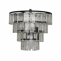 Noir Furniture Carnegie Chandelier, Medium