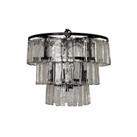 Noir Furniture Carnegie Chandelier, Small