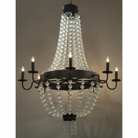 Noir Furniture Carrie Chandelier