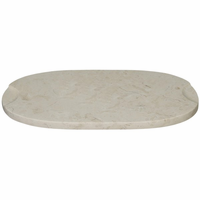 Noir Furniture Chopping Board, White Marble