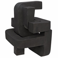Noir Furniture Curz Sculpture, Fiber Cement