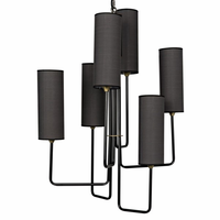 Noir Furniture Cylindrical Chandelier
