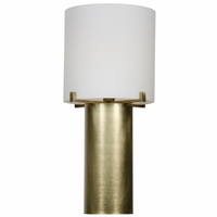 Noir Furniture Dede Table Lamp, Antique Brass, Metal