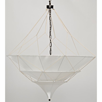 Noir Furniture Dynasty Chandelier, Small