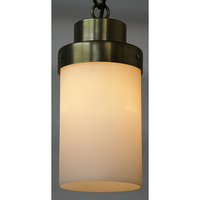 Noir Furniture Eleonore Pendant, Metal w/Brass Finish