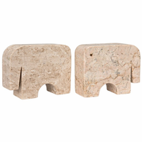 Noir Furniture Elephant Bookends (Pair)