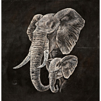 Noir Furniture Elephant Head