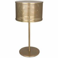 Noir Furniture Leila Lamp, Metal w/Brass Finish