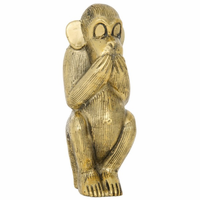 Noir Furniture Monkey, B, Brass