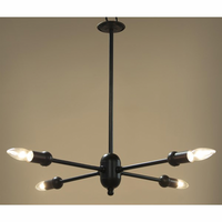 Noir Furniture Monzera Pendant