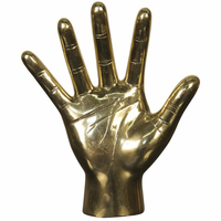 Noir Furniture Open Hand, Brass