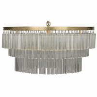Noir Furniture Oval Deco Chandelier