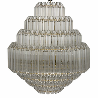 Noir Furniture Palazzo Chandelier, Small