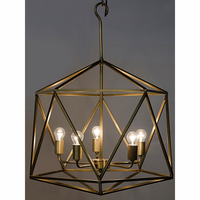 Noir Furniture QS Alden Pendant, Antique Brass