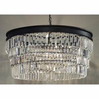Noir Furniture QS Crystal Pendant, Large