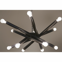 Noir Furniture QS Lex Chandelier