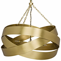 Noir Furniture QS Orion Pendent, Antique Brass