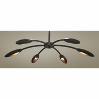 Noir Furniture Rufus Chandelier Small