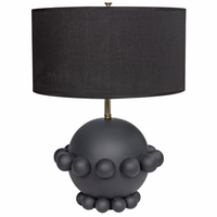 Noir Furniture Scepter Lamp, Beton Finish