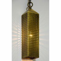 Noir Furniture Shifter Lamp, Metal w/Brass Finish