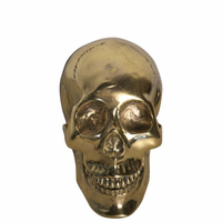 Noir Furniture Small Skull, Brass
