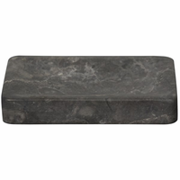 Noir Furniture Soap Dish, Black Marble