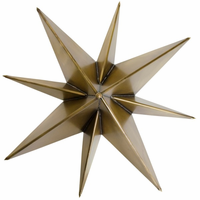 Noir Furniture Star Sconce, Metal