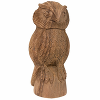 Noir Furniture Teak Owl