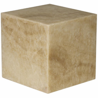 Noir Furniture The Cube, White Marble