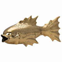 Noir Furniture The Fish, Brass