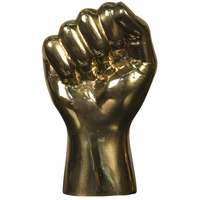 Noir Furniture The Solidarity Fist, Brass