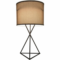 Noir Furniture Triangle Table Lamp