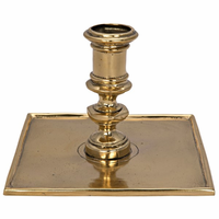 Noir Furniture Victorian Candle Holder, Brass