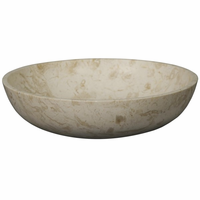 Noir Furniture White Marble Bowl