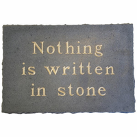 Noir Furniture Written In Stone, Stone